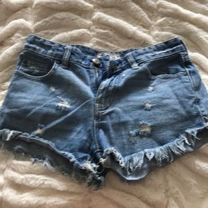 Freepeople Denim Shorts